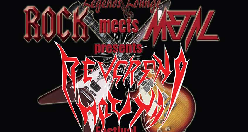 Die Ankündigung von Reverend Hound für das Rock Meets Metal Festival