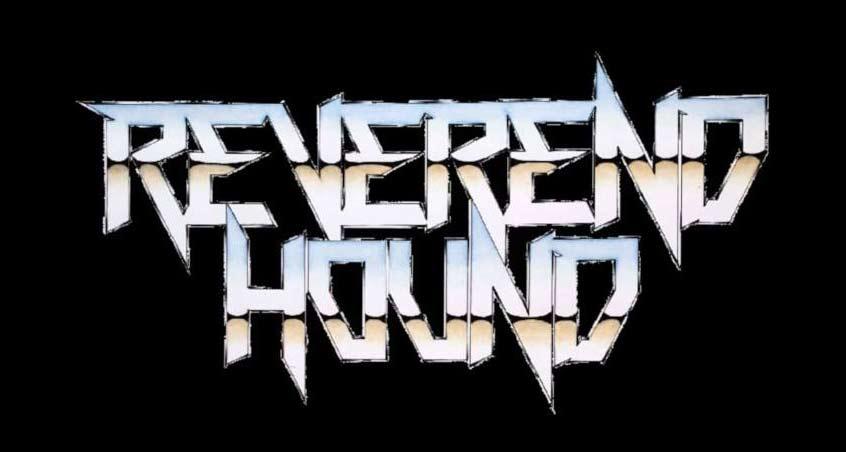 Das neue Logo der Heavy Metal Band Reverend Hound
